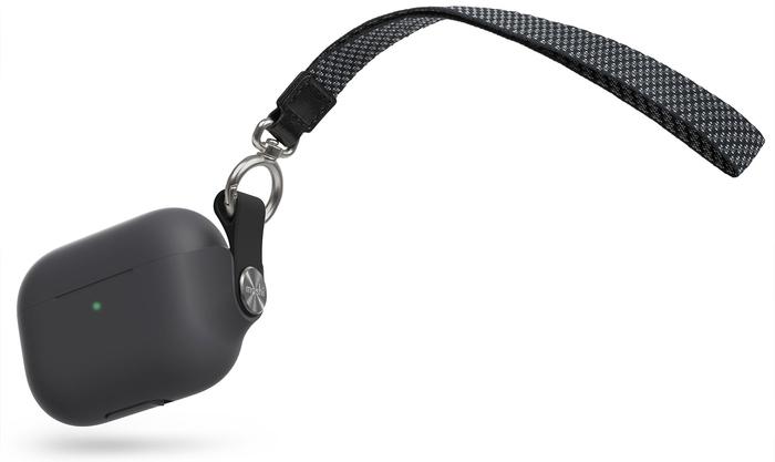 Купить Чехол Moshi Pebbo (99MO123032) для AirPods Pro (Black) в GOODS — цена 2 590 рублей